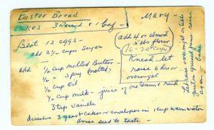 Original Recipe Card
