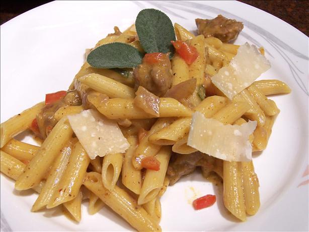 Italian Sausage and Winter Squash Pasta
