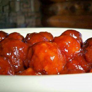 Drunken Meatballs