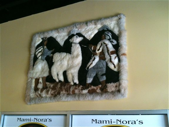 Mami Nora's Camel Rug