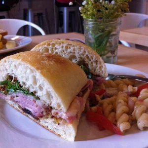City Ham, Havarti and Chutney Sandwich