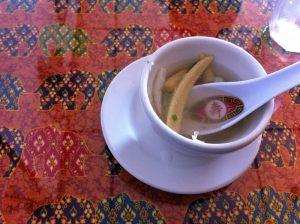 Soup at Pad Thai