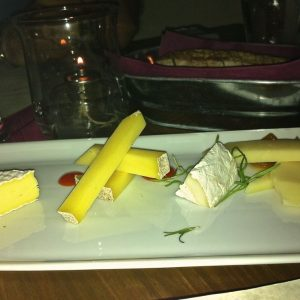 Fig Cheese Plate