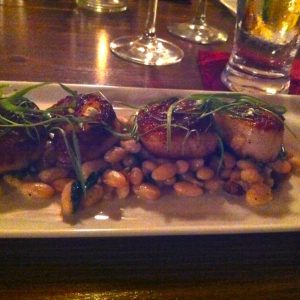 Fig&#039;s Seared Scallops