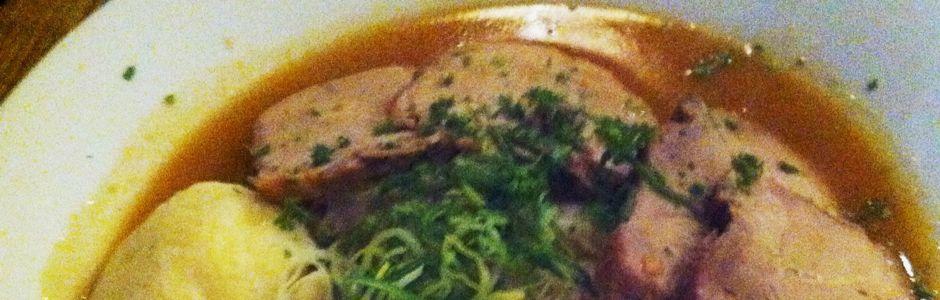 Pork Loin and Dumplings
