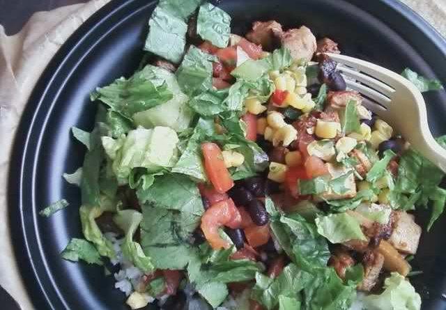 Qdoba Salad