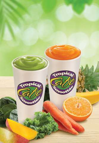 Tropical Smoothie Veggie Smoothies