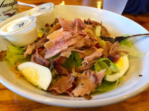 Chef Salad with Smoked Chicken and Pork