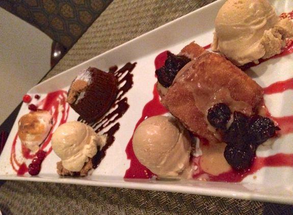 Cronut, Lava Cake, and Baked Alaska