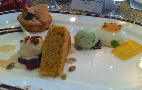 Dessert Sampler, Fall 2012 from Press Lunch at Fairview Room, Durham