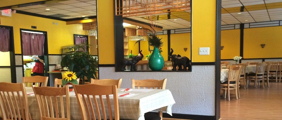 banana leaf restaurant interior