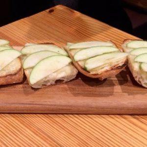 Apple Gruyere Baguette