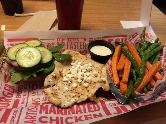 Smashburger Chicken Sandwich