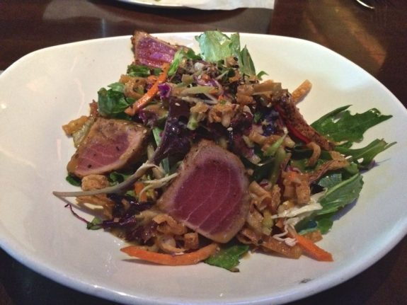 Ahi Crunchy Salad, Yard House