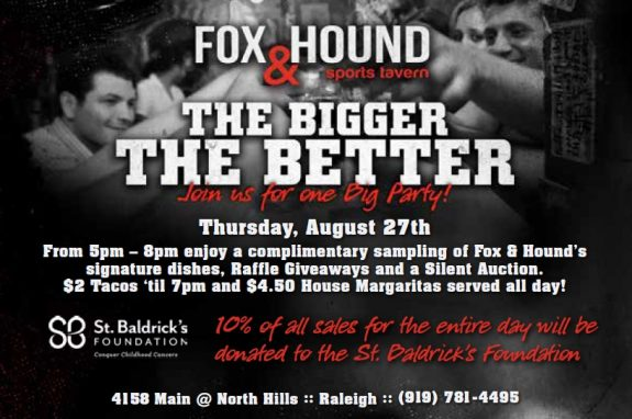 Fox & Hound Benefit