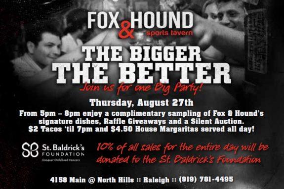 Fox & Hound Benefit