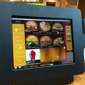 Kamado iPad Ordering Screen