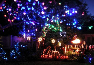 twinkling christmas lights 2017